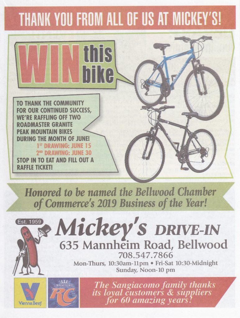 Mickeys Bike Giveaway